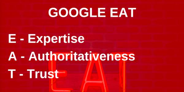 O que é Google EAT