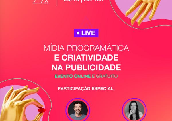 Live: Mídia programática e criatividade na publicidade