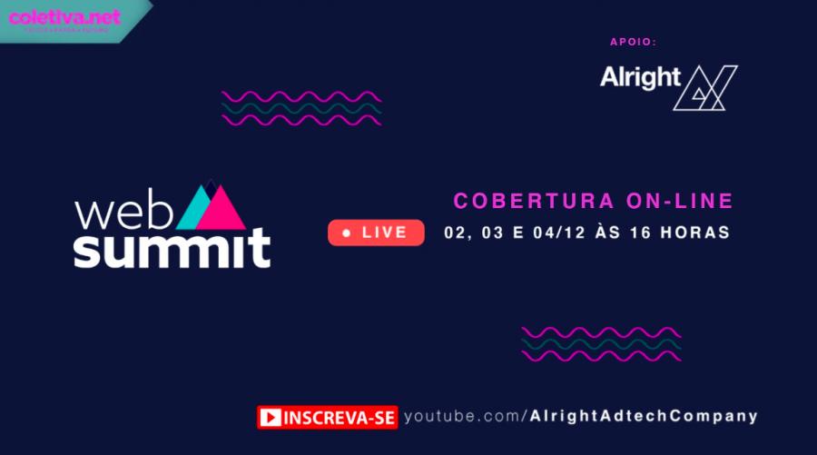 Cobertura Web Summit 2020