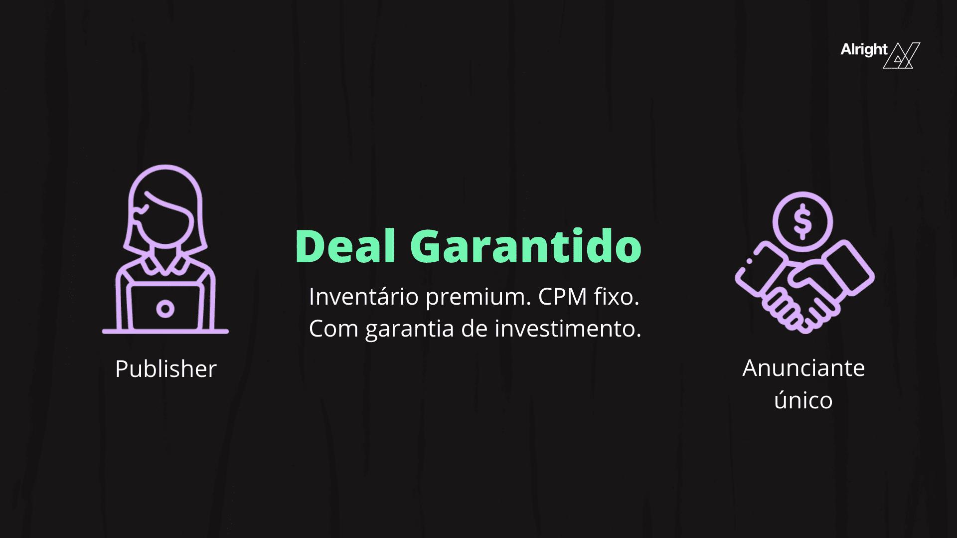Deal garantido deal programático