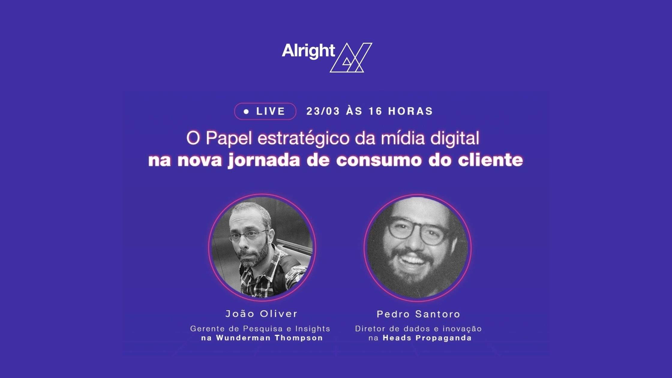 Live Alright AdTech mídia digital jornada do consumidor