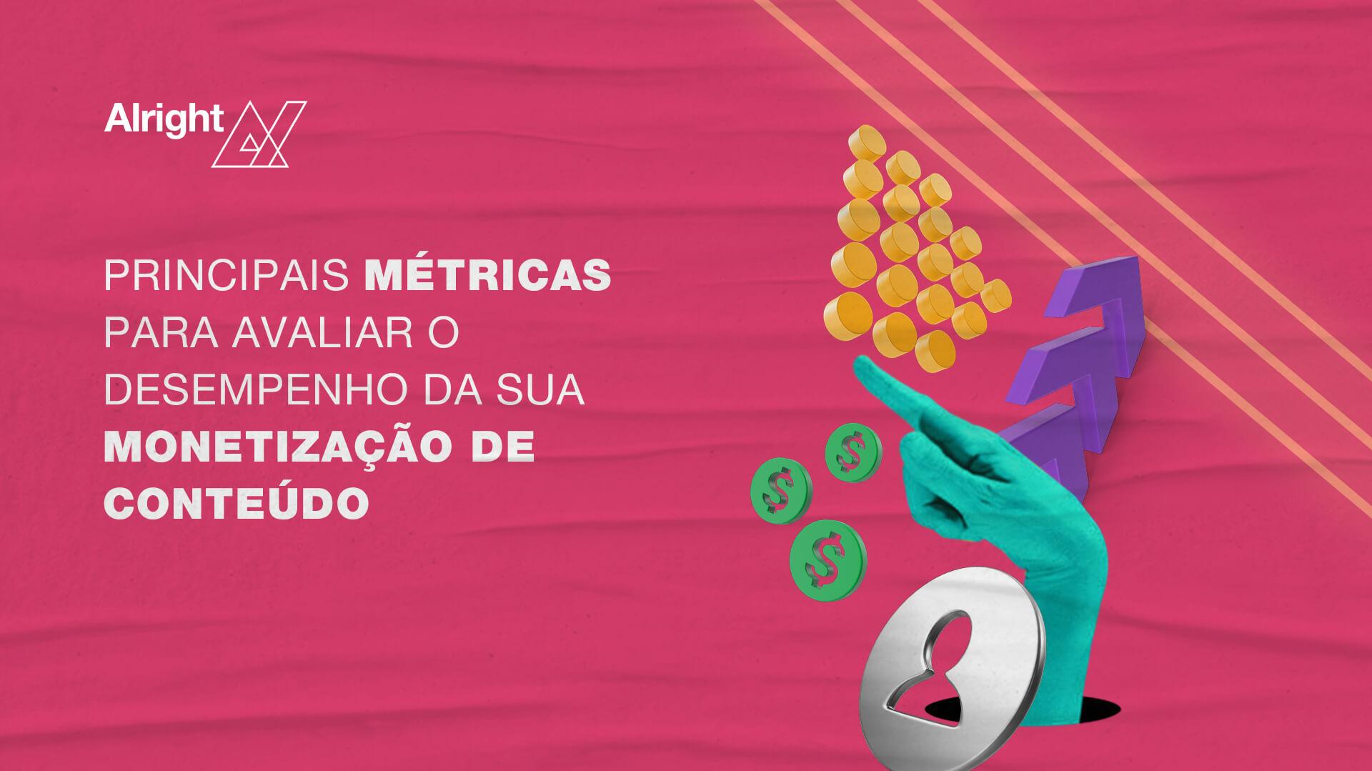 Principais métricas para avaliar o desempenho da sua monetização de conteúdo