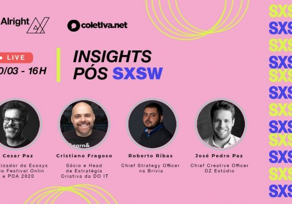 Live Alright | Insights pós cobertura SXSW 2021