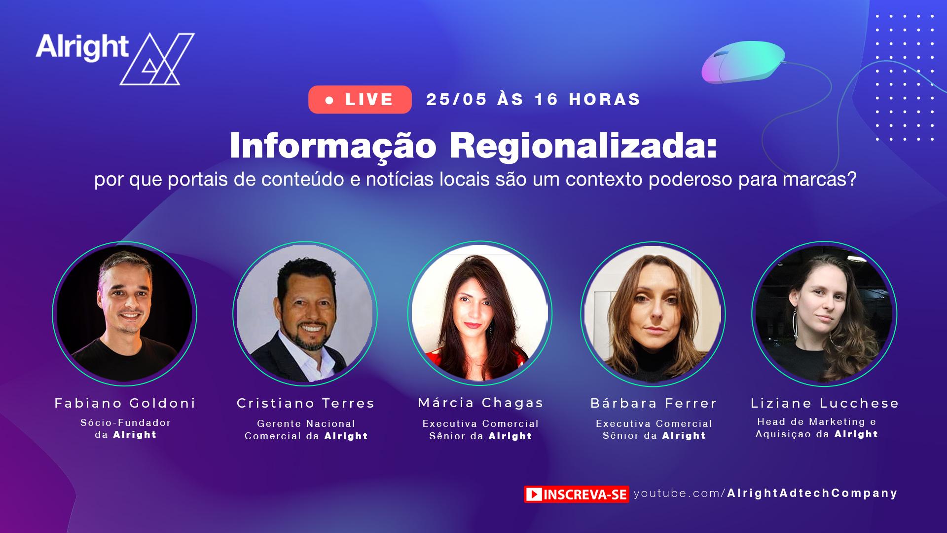 Resumo live | Informação Regionalizada