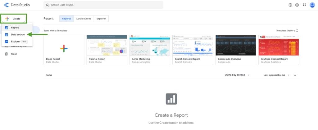 1_Criar um report UX Chrome